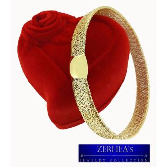Harga ZERHEA's 18K Yellow Gold Flexi Bracelet