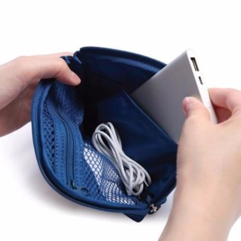 Digital Gadget Devices Cable Pouch (Dutch Navy) Price Philippines