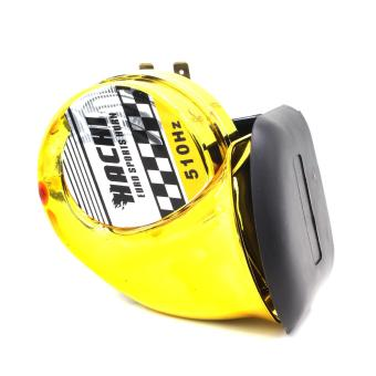 Motor Craze Hachi Universal Bike Scooters ATV Motorcycle Snail Horn (Yellow) Price Philippines