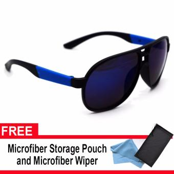 Iwear Collection Sunglasses (Blue/Black) with pouch and wiper Price Philippines