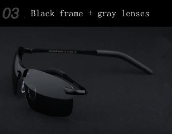 Brand Polarized Men's Sunglasses Rimless Sport Sun Glasses Driving Goggle Eyewear For Men oculos de sol masculino 3043 Price Philippines