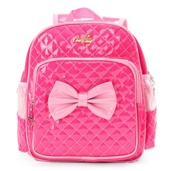 New Kids Children Girl Kindergarten Schoolbag Book Bag Toddle Backpack Rucksack Rose red Price Philippines