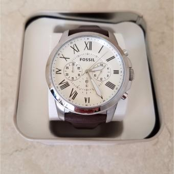 Fossil Grant Chronograph Egg Shell Dial Men's Watch FS4735 Price Philippines