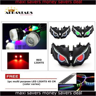 Harga Red Motorcycle LED Light Eagle Eye DRL Light Bulb for Honda XRM 110