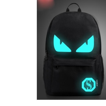 (Imported)BEST-YIGH 2017 Korea Fashion Boys Canvas personalized for teens Backpack School Book Shoulder Bag boy bags for school jansport - intl Price Philippines