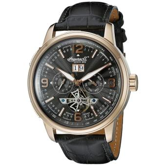Ingersoll Men's IN1222RGBK Connecticut Analog Display AutomaticSelf Wind Black Watch - intl