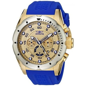 Invicta Mens 20307 Speedway Stainless Steel Watch With Blue PU Band- intl Price Philippines