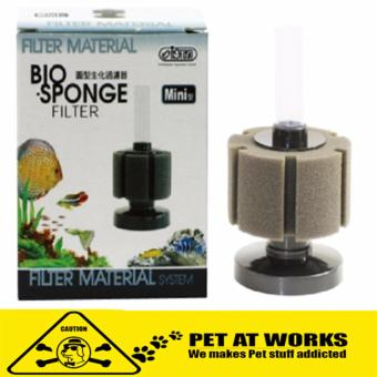 ISTA Bio-Sponge Filter Material (Mini) Round For Planted Tank andFish Aquarium Filter