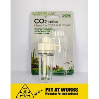 ISTA Intense Flow CO2 Bubble Counter (Aquarium Solenoid diffuser)For Planted Tank and Fish Tank Aquarium