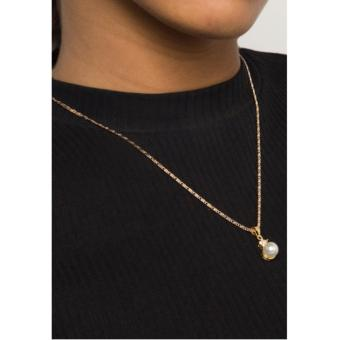 Jewelmine Pearl Jewellery Set (18k Gold Plated) - 3