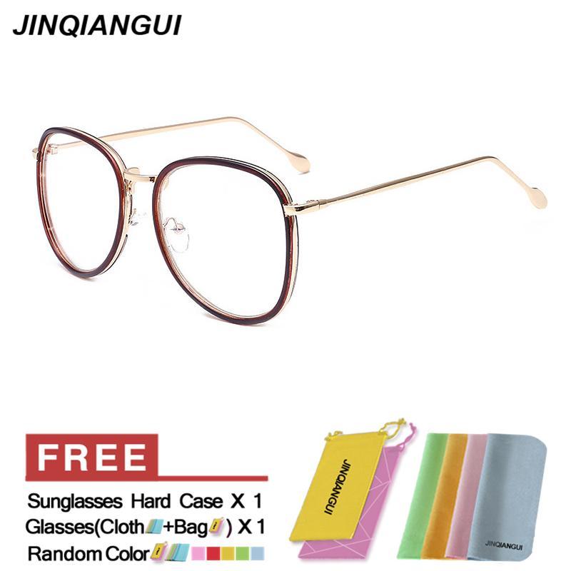 Philippines | JINQIANGUI Fashion Glasses Frame Vintage Retro Round ...
