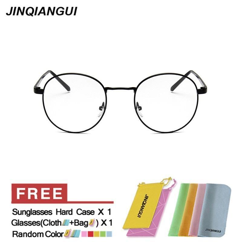 Philippines | JINQIANGUI Glasses Frame Men Round Retro Titanium ...