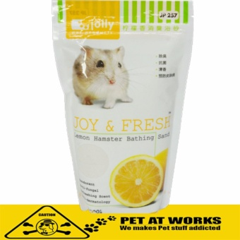 Jolly Joy & Fresh Bath Sand (Lemon) 500g for Hamster and PetBath Sand Price Philippines