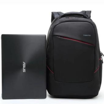 Joy Waterproof Nylon Business Travel Laptop Bag Backpack for10.1-15.6 Inch laptop-Black