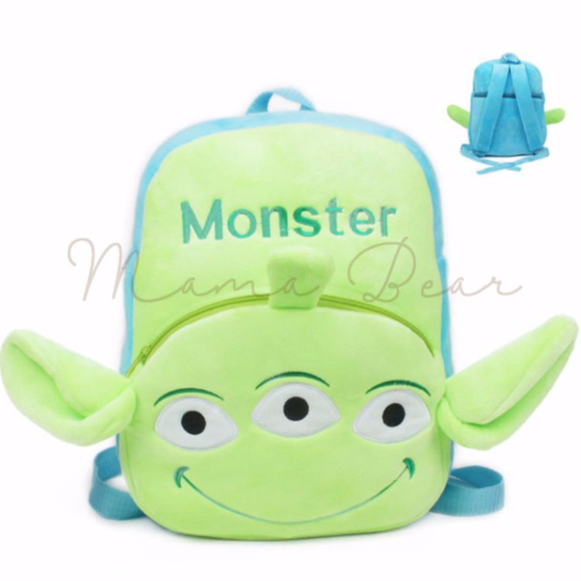 176daa3668 ... Kids Backpack Toddler Bag Children Fur Bag Soft Plush 3D Bear Stuffed  Toy School Bag ...