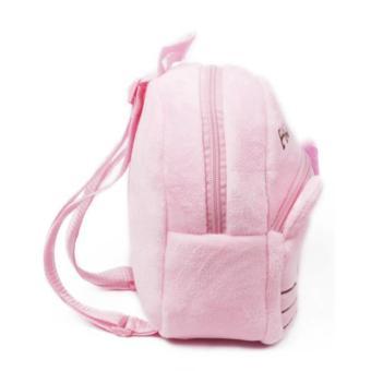 Kids Backpack Toddler Bag Children Fur Bag Soft Plush 3D Stuffed Toy School Bag (HK Small) - 2