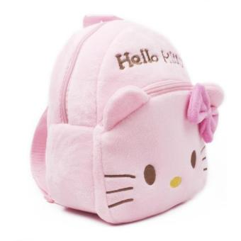 Kids Backpack Toddler Bag Children Fur Bag Soft Plush 3D Stuffed Toy School Bag (HK Small) - 4