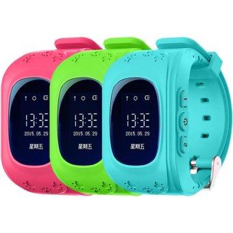 Kids Safe GPS/GSM Watch Wristwatch SOS Call Anti Lost Smartwatch For Kids-Q50 - intl - 3