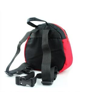 Kintergarden Children Baby Kids Backpacks Keeper Toddler Walking Safety Harness Bag Strap Rein Bat Ladybird Satchel - intl - 2