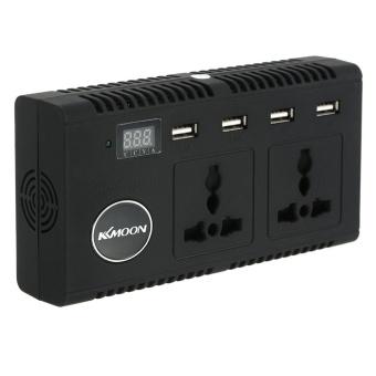 KKmoon 200W Car Inverter DC 12V to AC 220V 50Hz with 4 USB Ports / 2 AC Outlet / Voltage Display - intl - 4