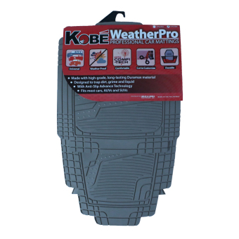 Kobe WeatherPro Professional Car Mattings (Grey)