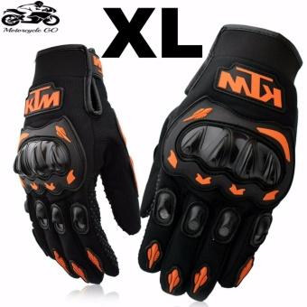 KTM Gloves For Motorcycle XL (Orange/Black)