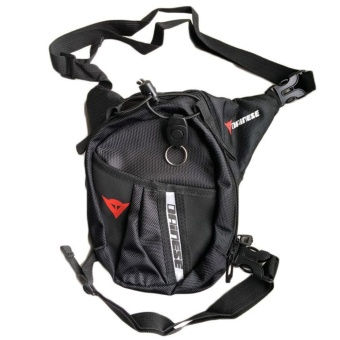 Kuhong Waterproof Motorcycle Black Leg Bag Tank Pack PocketMountaineering Fishing Bag - intl - 2