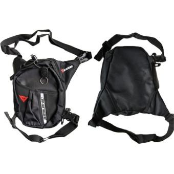 Kuhong Waterproof Motorcycle Black Leg Bag Tank Pack PocketMountaineering Fishing Bag - intl - 3