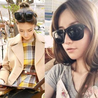 La Vie Women Shiny Black Sunglasses Sun Glasses for UV Protector - intl