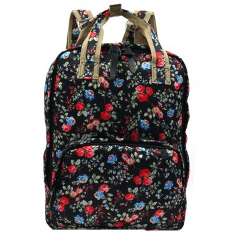 Ladies Printed Casual Daypacks Bag (Multicolor)
