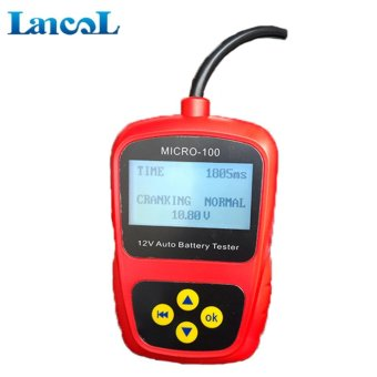 Lancol MICRO 100 Battery testers 12V Car Battery System Tester battery diagnostic analyser tool - intl - 2