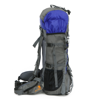 Large hiking camping backpack Outdoor sports bag waterproofbackpack 47L Orang - 2