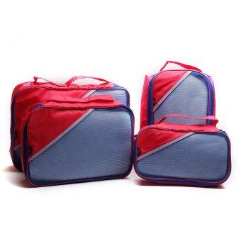 Le Organize 4-in-1 Luggage Organizer (Pink)