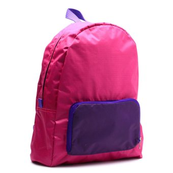 Le Organize Jammies Foldable Backpack (Pink/Purple) - picture 2
