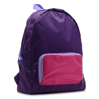 Le Organize Jammies Foldable Backpack (Purple/Pink) - picture 2