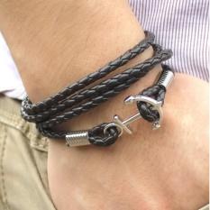 ... Colorful Rainbow Leather Bracelets For Men & Girls Fashion Source Leather Bracelets for Men Rock Hip