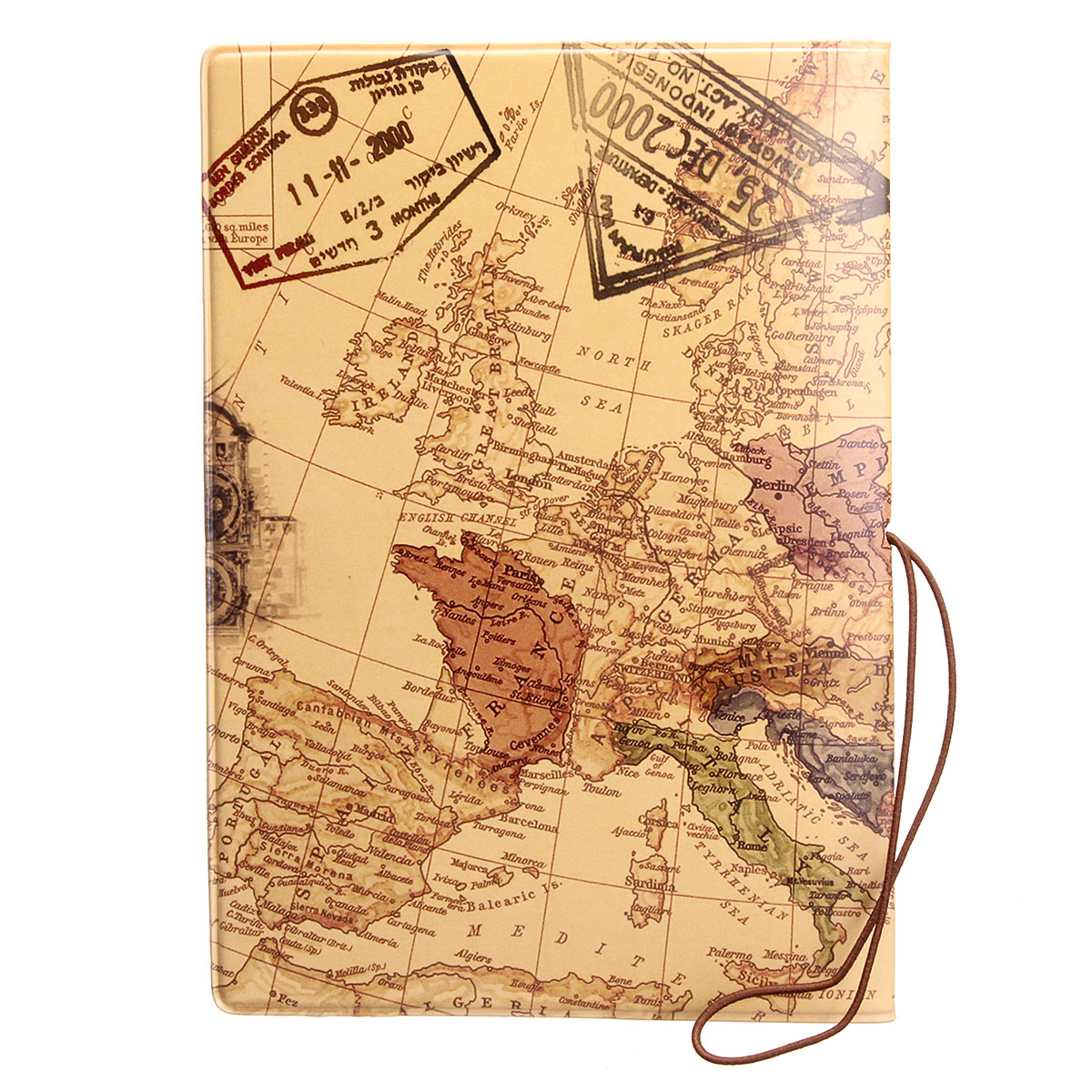 Philippines leather world map passport holder organizer travel leather world map passport holder organizer travel card case document cover hot coffee gumiabroncs Image collections