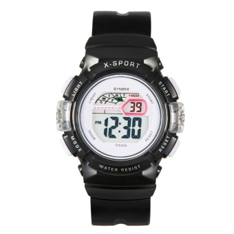 LED Digital Sport Students Children Watch Kids Watches Boys Girls Child Electronic Wrist Watch for Surprise Gift Clock 9568 - intl