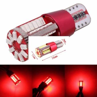 LED T10 SMD 57 led parking light red Price Philippines