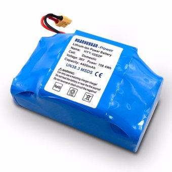 LHR 4400 mAh 36V High Power Lithium Ion Battery Pack for Hoverboard(Color May Vary)