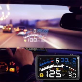 LHR HUD F4 Car Head Up Display (Black)