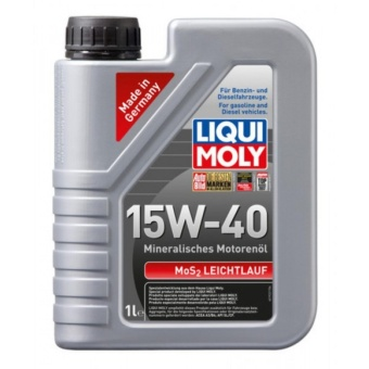 Liqui Moly MoS2 Low-Friction 15W-40 1 Liter