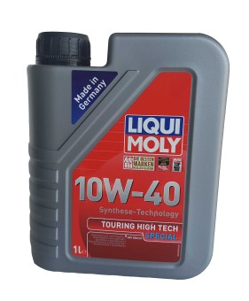 Liqui Moly Synthetic Technology 10W-40 Touring High Tech SpecialMotor Oil 1Liter by 4's