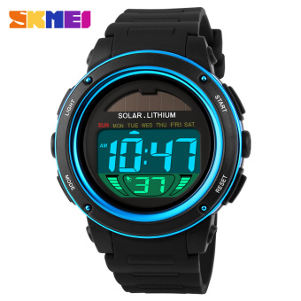 Luminous Stylish men's electronic multifunction watch waterproof sports watch