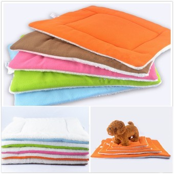 M Small Medium Extra Large Pet Dog Crate Mat Kennel Cage Pad Bed Cushion Coffee - Intl - 2