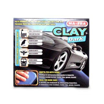 Ma-Fra Clay Bar for Dark-Coloured Cars HO174