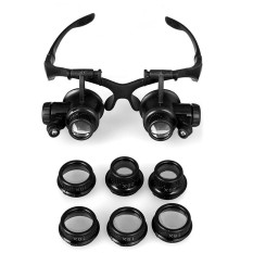 Magnifying Glasses Resin Lupa 10X 15X 20X 25X Eye Jewelry Watch Repair Magnifier .