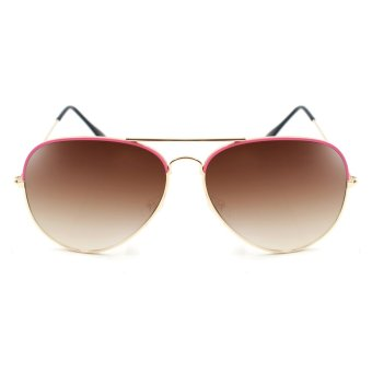 Maldives 000-Y Harper Sunglasses (Gradient Brown/Pink Bronze)