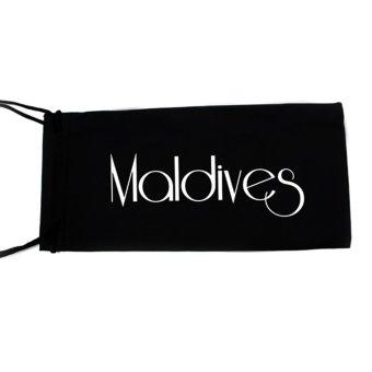 Maldives 102 Colby Fashion Retro Rectangle Frame Sunglasses (Gradient Brown/Matte Brown) - 2
