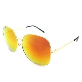 Maldives 1542-Y Tracie Sunglasses (Multicolor Orange/ Gold) - picture 2